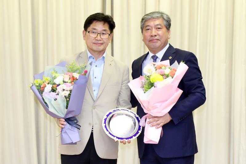 경기도의회 제10대 전반기 정책공약 관리 성과보고 및 공로패 전달식