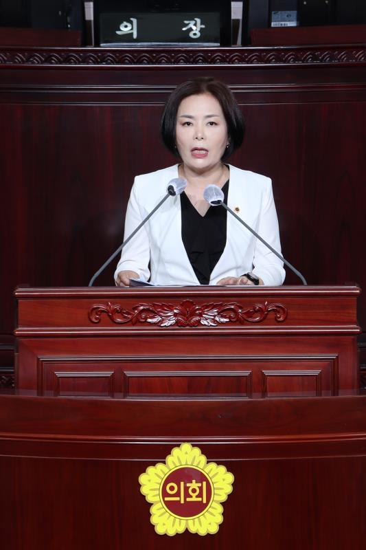 제345회 임시회 제1차 본회의 5분자유발언