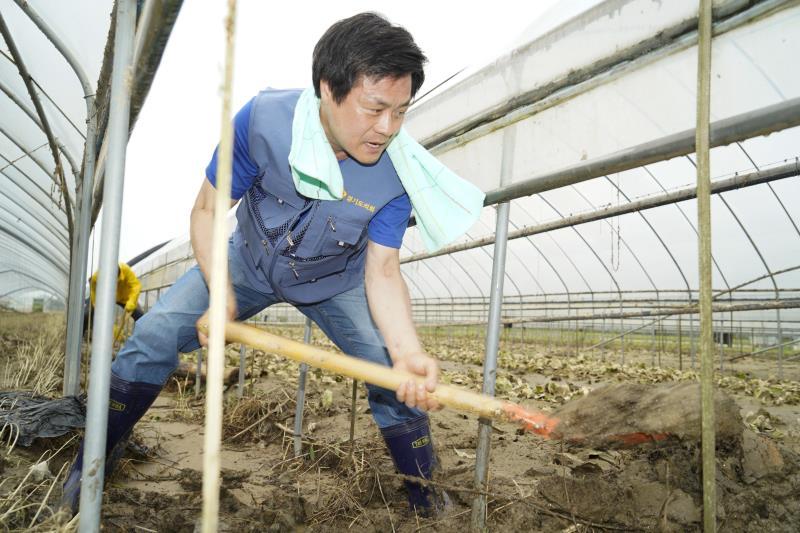 경기도의회 이천 수해지역 자원봉사
