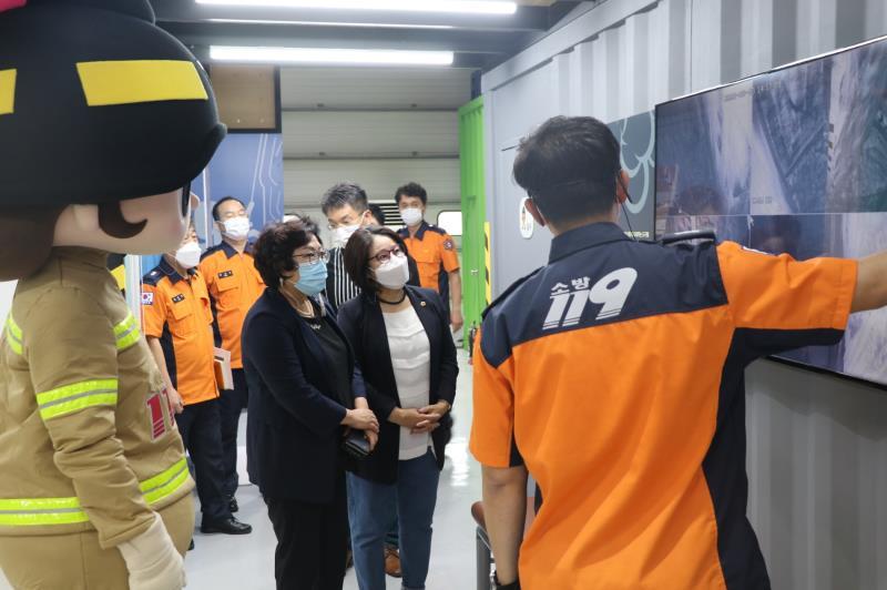 의정부시 119 안전체험관 방문