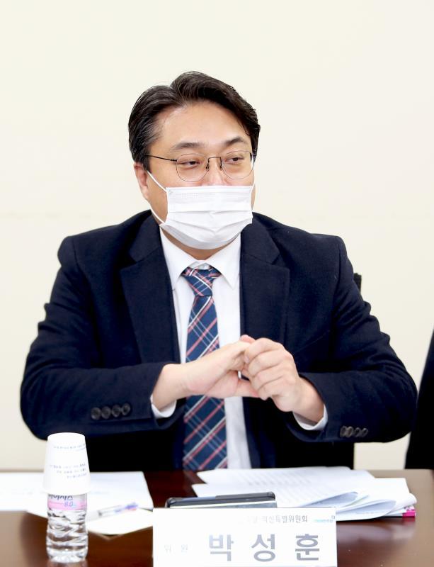 경기도의회 더불어민주당 혁신특별위원회 회의