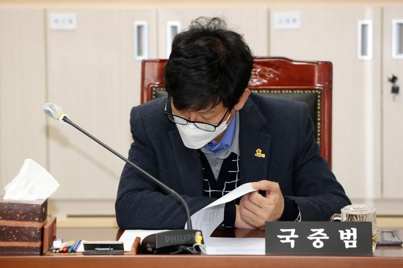 제349회 임시회 제1차 의회운영위원회