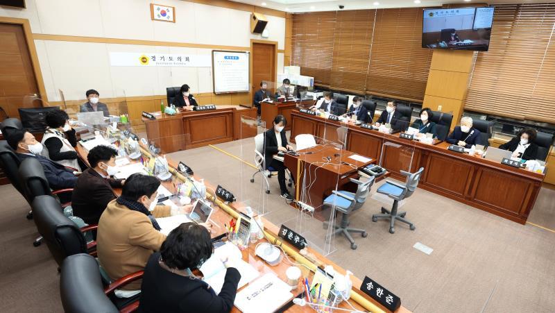 제350회 임시회 제1차 교육기획 위원회 상임위회의