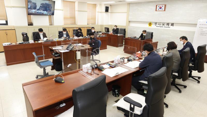 제350회 임시회 제1차 여성가족평생교육 위원회 상임위회의