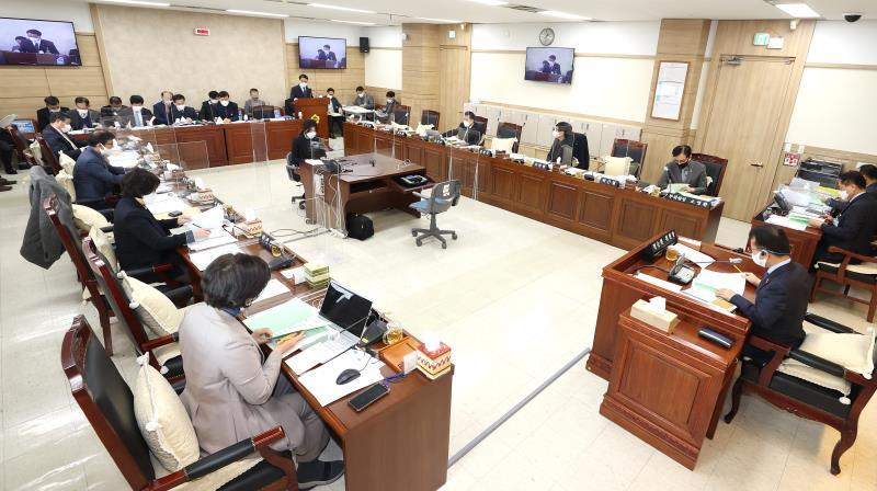 제350회 임시회 제1차 운영위원회 회의(오후) 사진 1