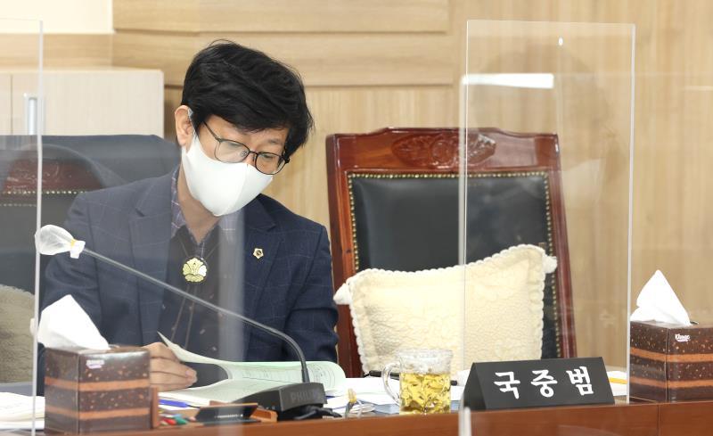 제350회 임시회 제1차 운영위원회 회의(오후) 사진 5