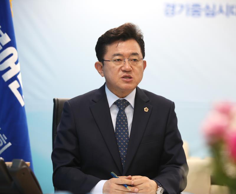 경기도의회 교섭단체 박근철대표 중부일보 인터뷰