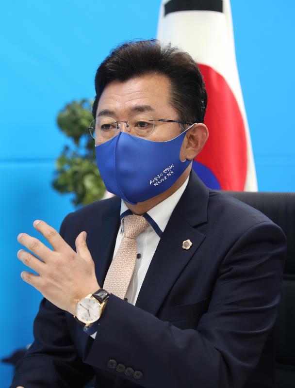 경기도의회 박근철 대표 경기일보 인터뷰