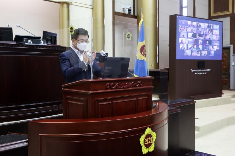 2021년 제15회 청소년 의회교실 사진 6