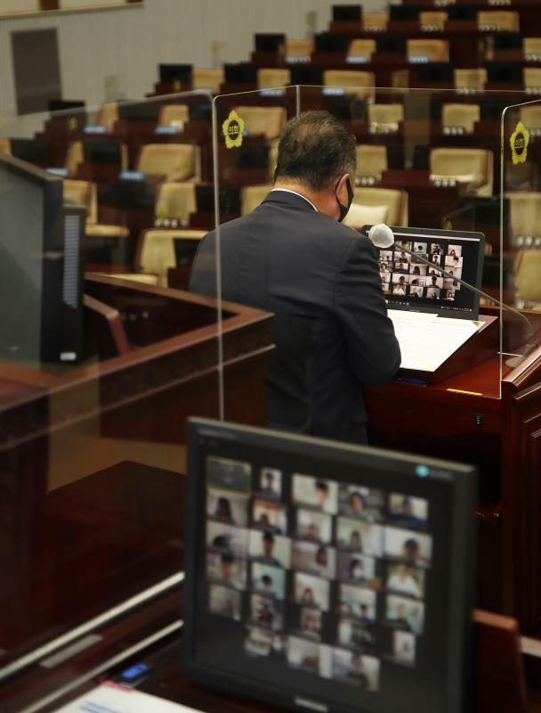 2021년 제16회 청소년 의회교실 사진 2