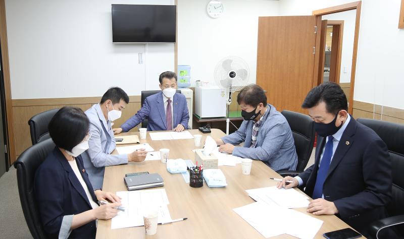 경기도의회 더불어민주당 대변인단 회의