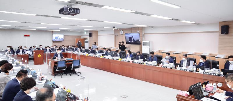 제354회 임시회 1차 예산결산특별위원회