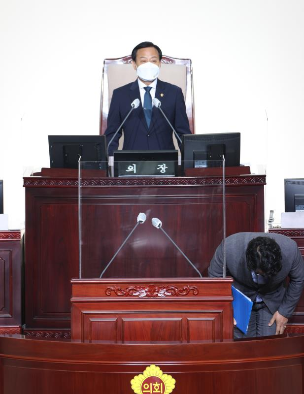 제355회 임시회 2차 본회의 5분자유발언