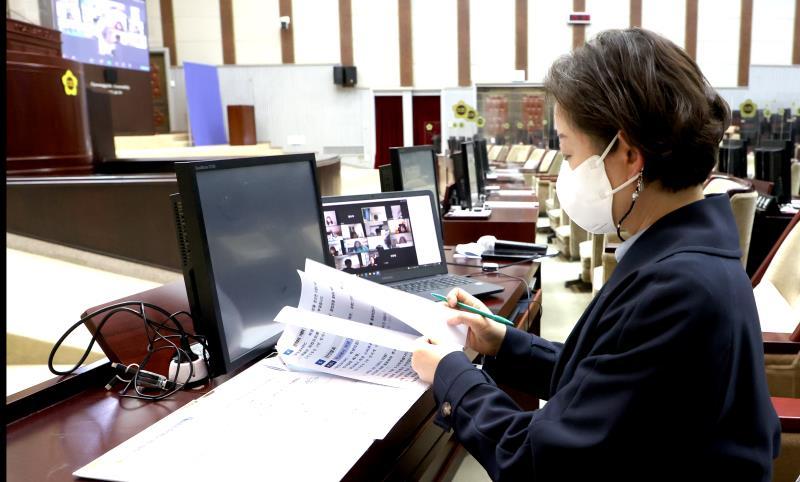 문경희 부의장님 제24회 청소년의회교실 남양주 송라 초등학교 참여